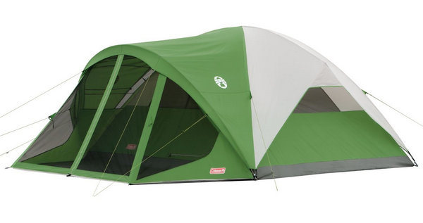 Roomy easy to setup 6 person tent with a fully screened front porch area ...  sc 1 st  PromoPure & THE BEST FAMILY TENT FOR CAMPING: Coleman Evanston Screened Tent ...