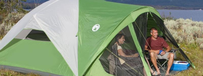 THE BEST FAMILY TENT FOR CAMPING Coleman Evanston Screened Tent : coleman evanston 8 tent - memphite.com