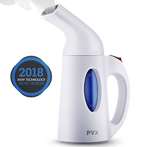 pax portable steamer for clothes powerful travel and home handheld garment steamer 60 seconds. Black Bedroom Furniture Sets. Home Design Ideas