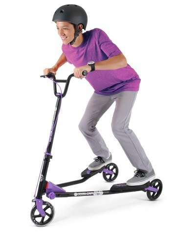 Y Fliker Scooter >> Yvolution Y Fliker Carver C5 Kids Adult Drifting Scooter With 3