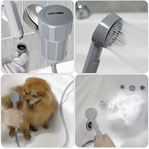 MEE Pets Shower Attachment, Quick Connect On Tub Spout W/Front Diverter,  Ideal For Bathing Child, Washing Pets And Cleaning Tub For $11.99 Free  Shipping ...