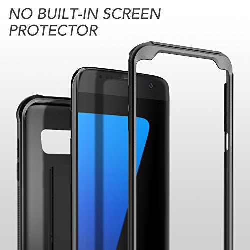 Galaxy S7 Edge Case, YOUMAKER Heavy Duty Protection Kickstand Belt Clip  Holster Shockproof Case [Military Drop Tested] for Samsung Galaxy S7 Edge