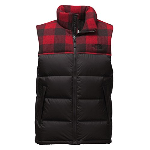6b819941f4 The North Face Men s Nuptse Vest Black Red Down Vest XL for  149.00 Free  Shipping from Amazon The North Face Store - PromoPure