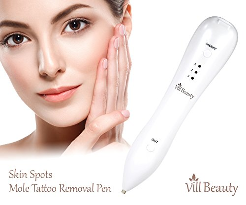 Beauty Mole Removal Pen Electric Body Facial Skin Tag Freckle