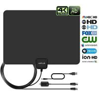 e985f97191 Amplified Digital HD TV Antenna 50-80 Miles Lo.