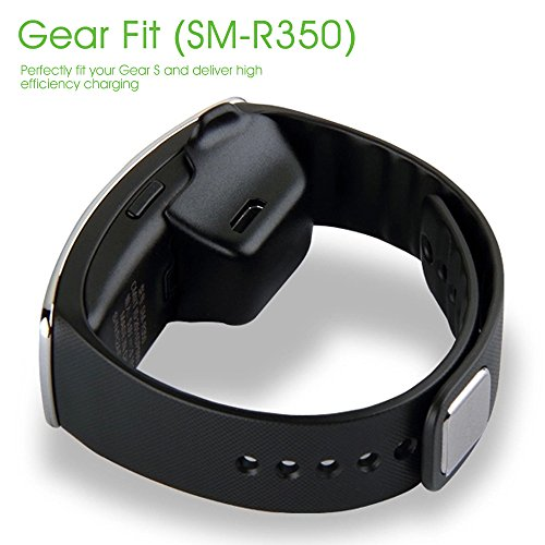 AWINNER Charger Cradle Charging Dock Desktop For Samsung Gear Fit R350 Smart Watch Black Galaxy 699 Free Shipping From Amazon