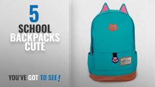 37e816723eab School Backpacks Cute  2018 Best Sellers   Moolecole Leathe.